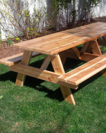 Cedar picnic table edmonton alberta