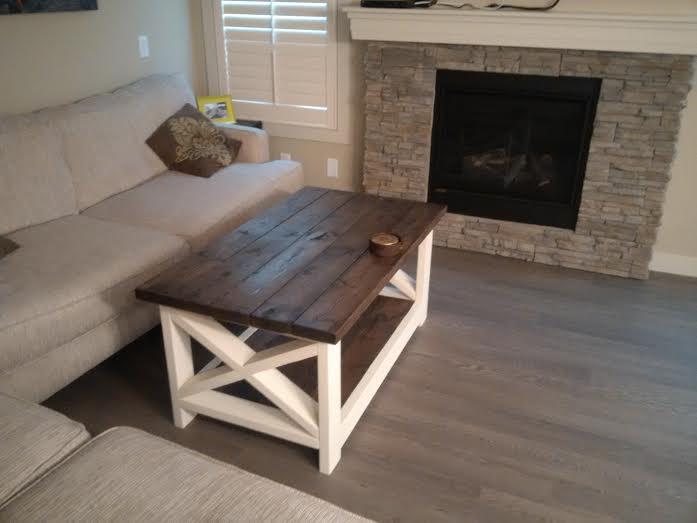 original x coffee table - forest trek woodwork
