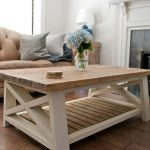 rustic harvest coffee table
