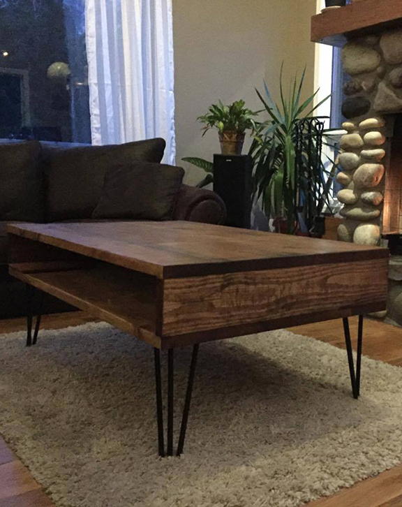 Retro Box Coffee Table