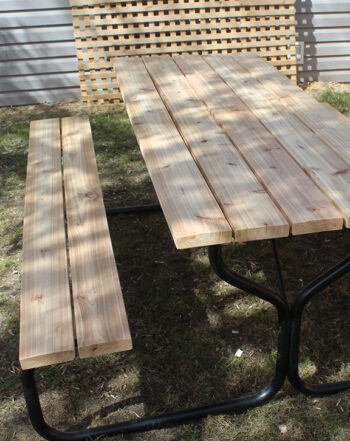 metal base picnic table edmonton