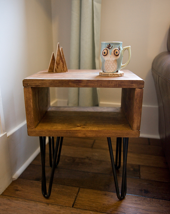 Retro Box Side Table