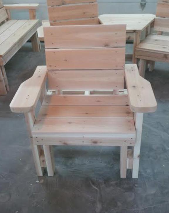 Garden Bench Single