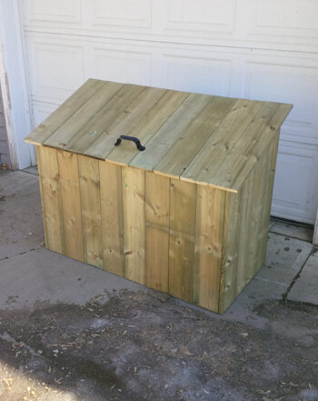 garbage box edmonton alberta canada