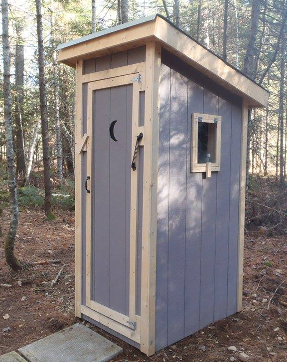 Outhouse Forest Trek Woodwork